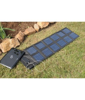 SF-360 36 Watts USB & 12 Volt Waterproof Solar Panel Charger